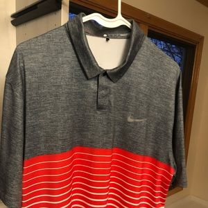 Tiger Woods TW Nike golf shirt
